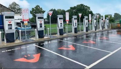 instavolt teams aa support ev drivers